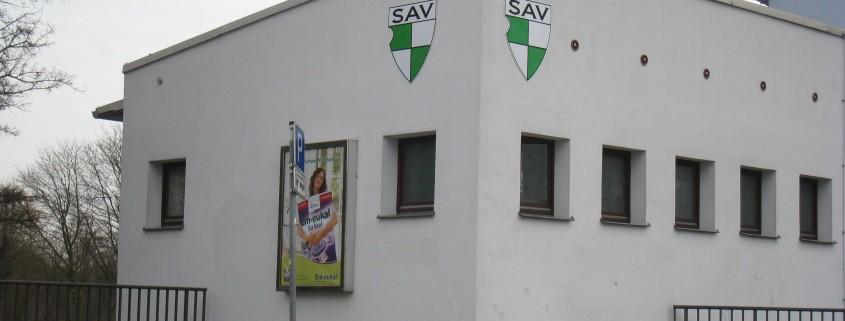 Stadion Vegesack Umkleidegebäude