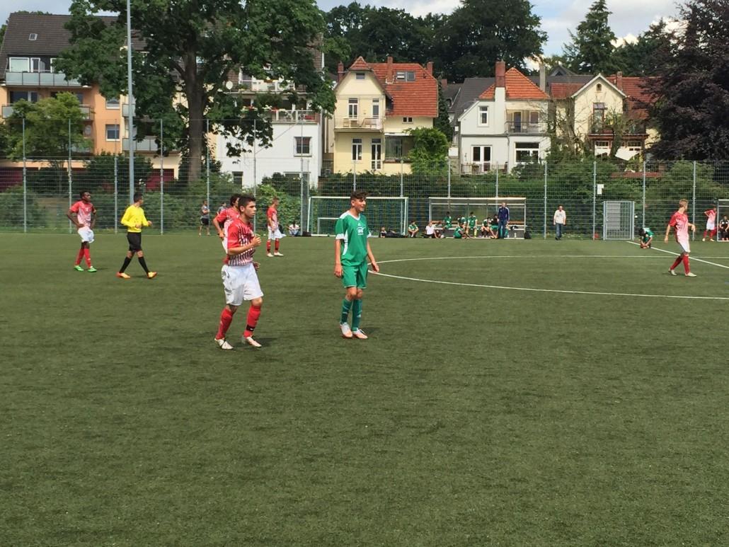 Sav Jfv Bremen U17 Trennt Sich 11 Unentschieden Von