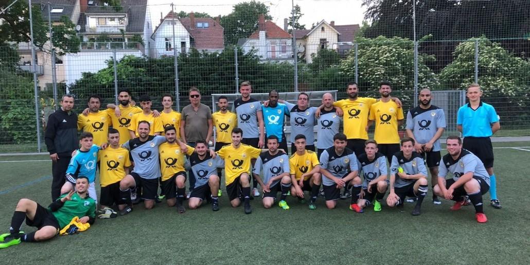 Sav Sav Team Fussball Verbindet Besiegt