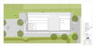 Entwurfsplanung Umkleidegebäude Stadion Vegesack